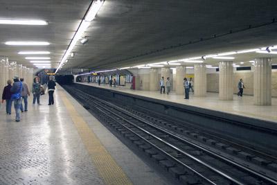 Urbanrail Net Gt Lisboa Metro Gt Linha Amarela Odivelas Rato