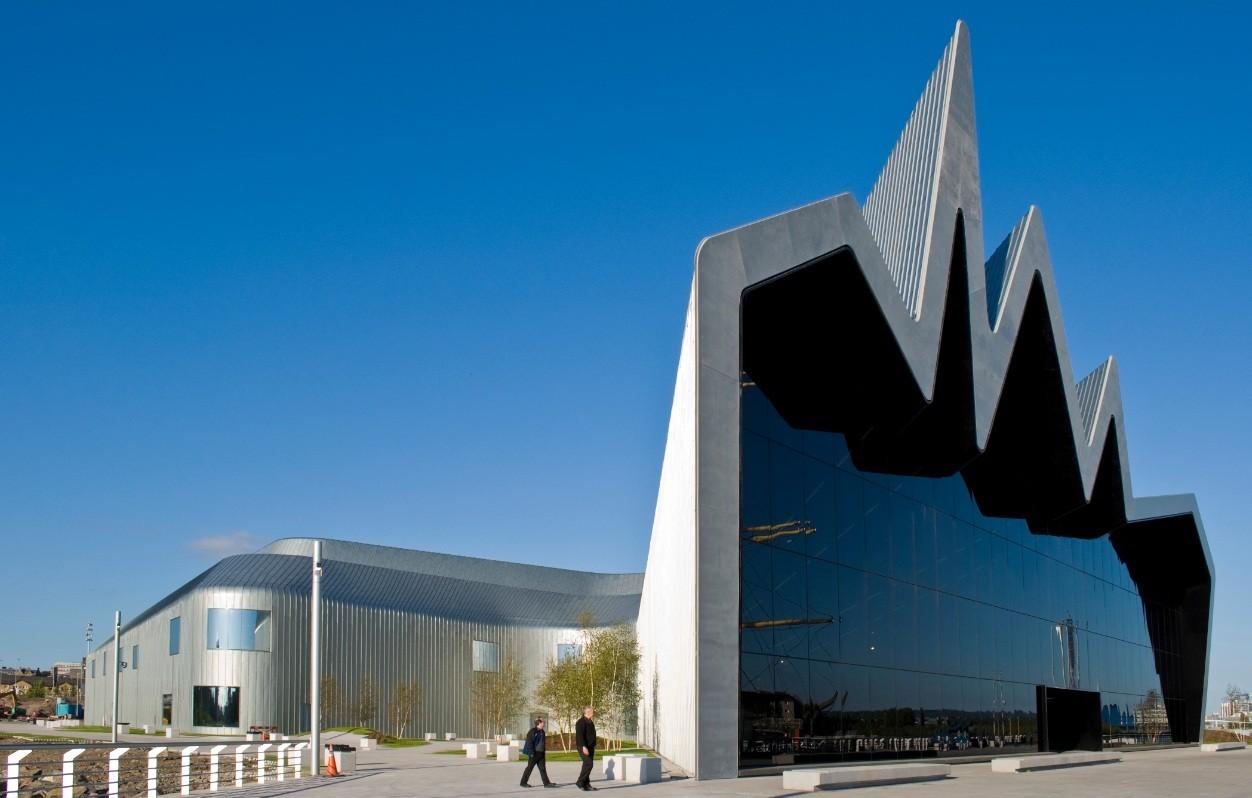 Bildergebnis für riverside museum glasgow