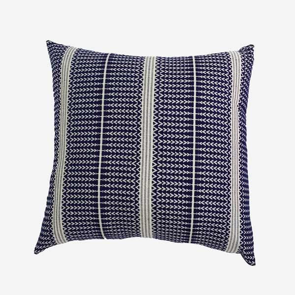 geometric throw pillow navy blue cushion covers custom euro shams