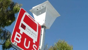 Solar Bus Stop Light in Orange County, CA