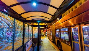 Urban Solar bus stops in Seattle