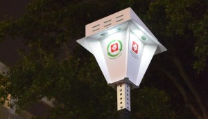 Solar Bus Stop Light