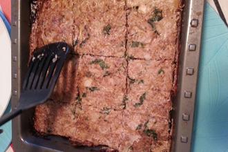 Super-easy and delish turkey or chicken meatloaf