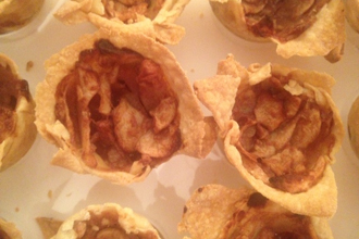 Apple tartlettes – because I'm on a bake sale blitz