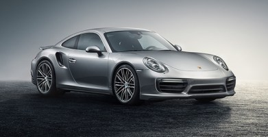 The new Porsche 911 Turbo. Because what else does one do with an extra $180,000