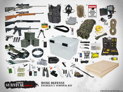 Home Defense Emergency Survival Kit