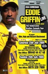 Eddie Griffin Undercover Brother Comedy Tour