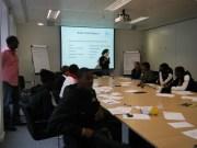 Kickz Youth Board Training with Urban Synergy