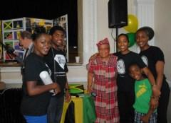 Intergenerational volunteering at Pineapple Club