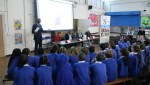 Urban Synergy 'Top Tips to the Top' Role Model Seminar at Eliot Bank Primary School took place on Tuesday 1 March with panellists Chantal Coady, Troy von Scheibner, Ebenezer Ademisoye and Dawn Goring.