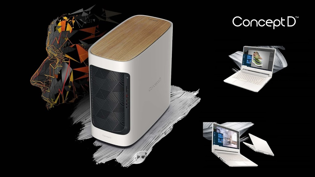 Acer Updates ConceptD PC Line-Up