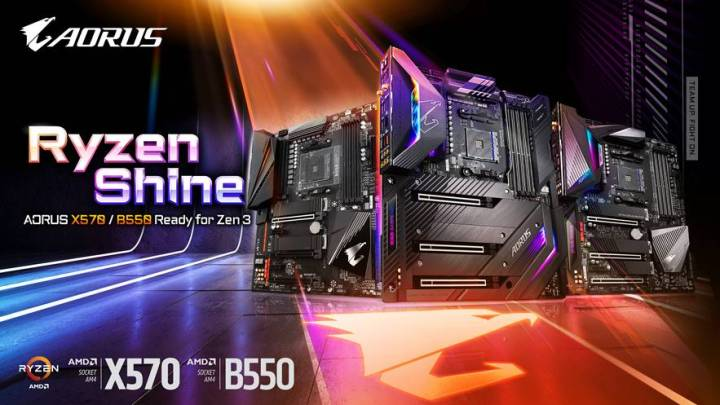 Gigabyte Releases BIOS Update for 500 Series Motherboards to Support Ryzen 5000 Series Processors