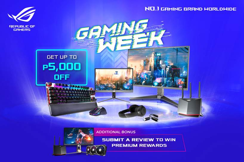 ASUS Republic of Gamers Announces Its Gaming Week Promo