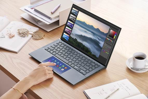 Zenbook 14 Screenpad function