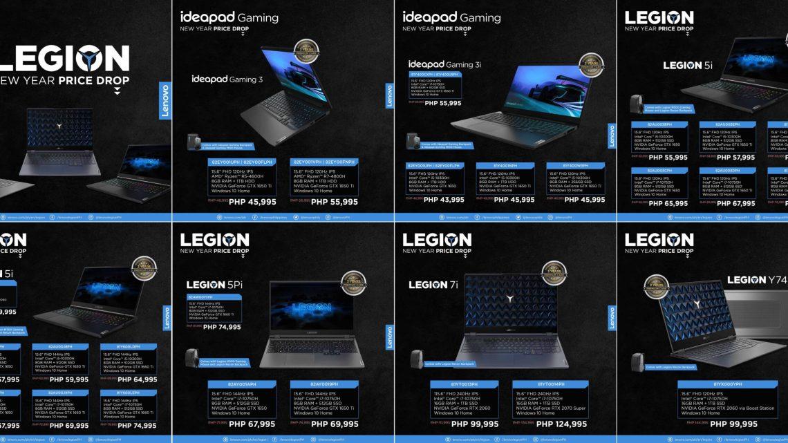 Lenovo Legion Gaming PCs Get New Year Price Drop