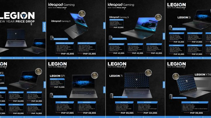 Lenovo Legion Gaming PCs Get New Year Price Drop