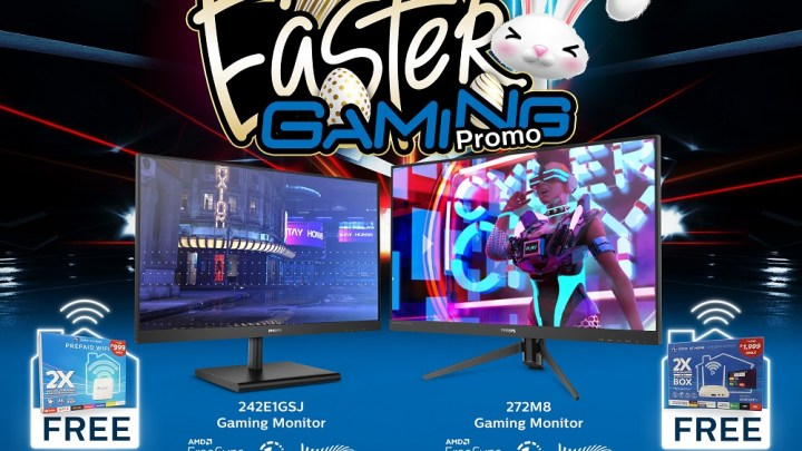 Philips Gaming Monitors Partners With Globe, Launches Easter Gaming Promo