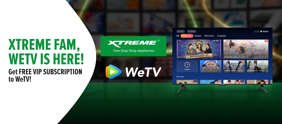 Xtreme Partners with WeTV to Bring Asian Premium Content to Philippines