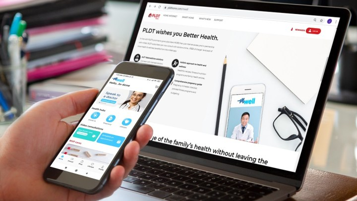 mWell offers free online consultation with PLDT Home