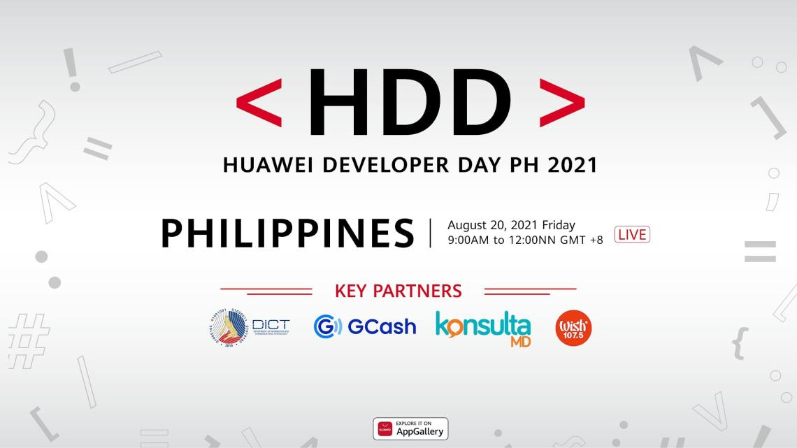 Huawei Developer Day 2021 Goes Live on August 20