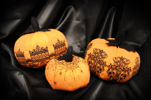 Kết quả hình ảnh cho A Stuffed Fabric Pumpkin for Decorating Your Home