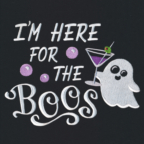 Ghost Boos Here