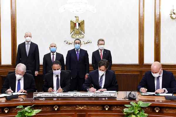 Egypt signs USD 3 billion contract with Siemens Mobility for turnkey rail system