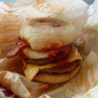 McDonald's review: Mega Muffin from Japan