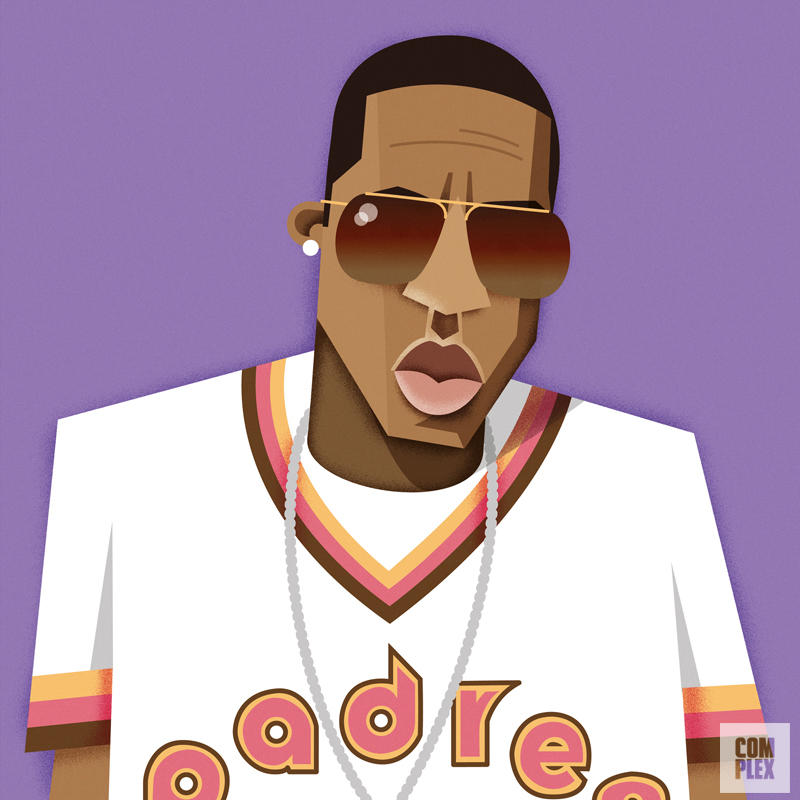 rappers Jay Z URBe