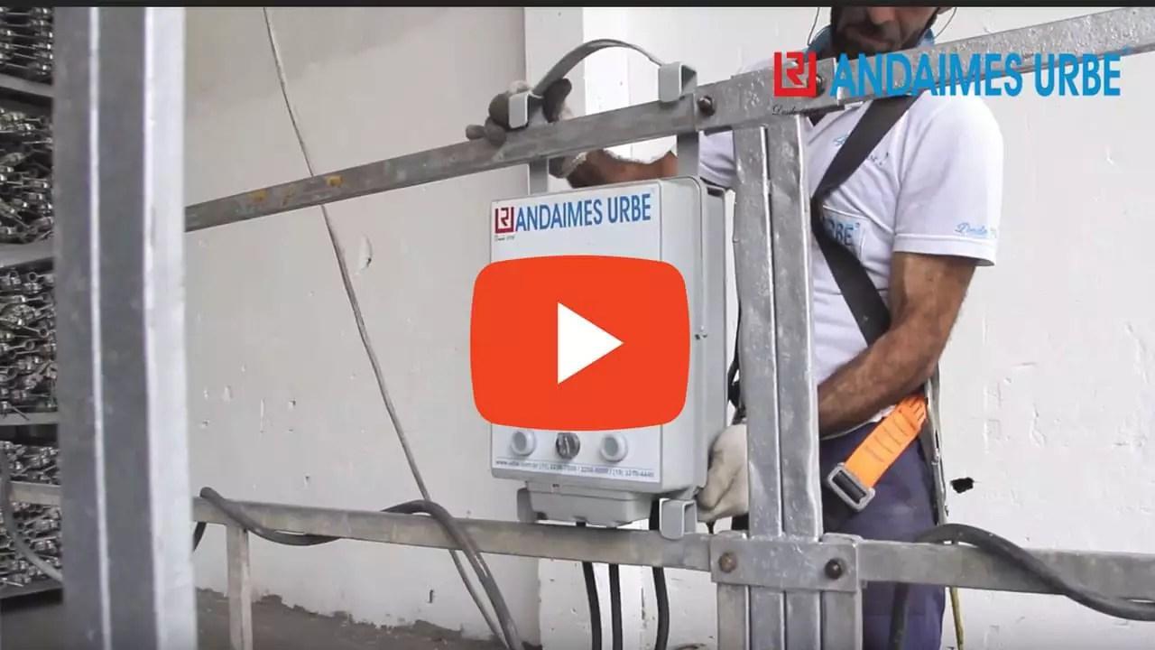 Video Montagem Balancim Elétrico