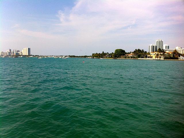 Las vistas de Bay Harbor desde el apartamento de Dexter