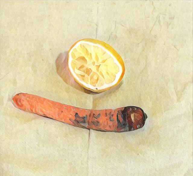 Limón y zanahoria: decadencia