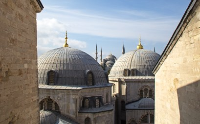 Photo of the Blue Mosque in Istanbul