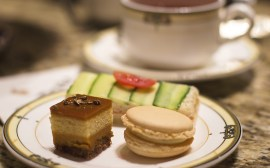 Photo of afternoon tea treats at the Drake Hotel