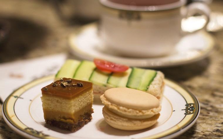 Photo of afternoon tea treats at the Drake Hotel