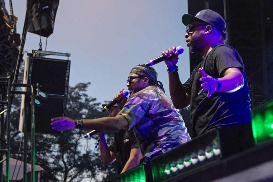 Image of A Tribe Called Quest at Pitchfork
