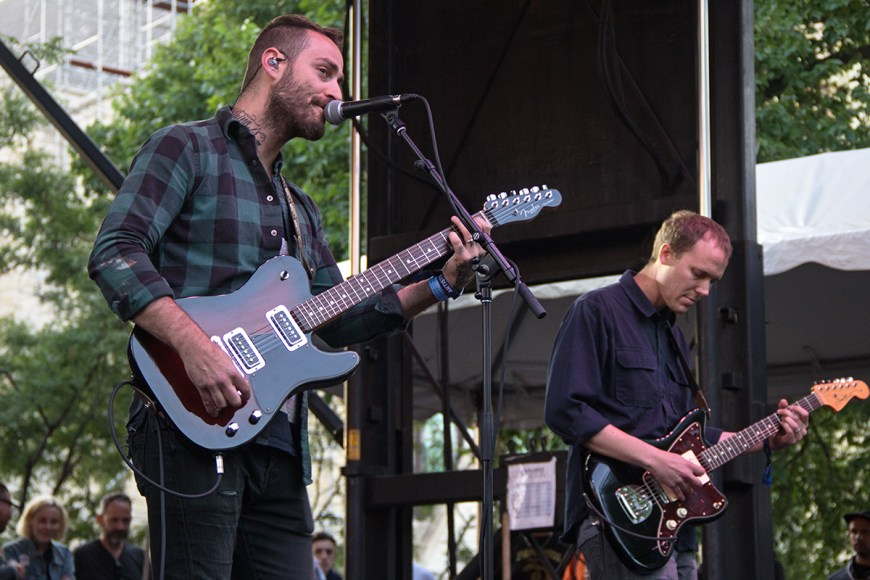 Image of American Football performing at Pitchfork
