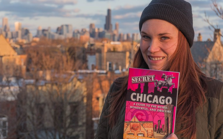 Jessica Mlinaric's book Secret Chicago is now available