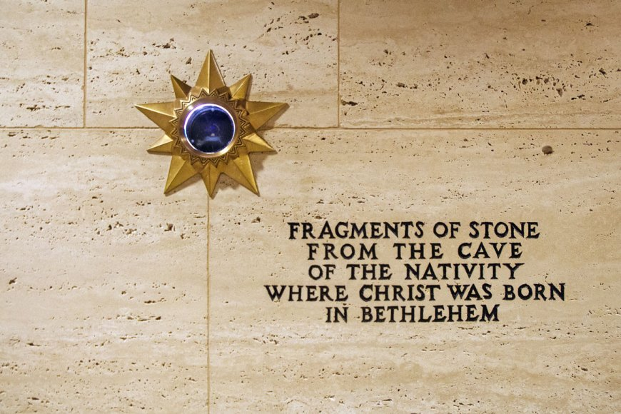Bethlehem fragment in Tribune Tower
