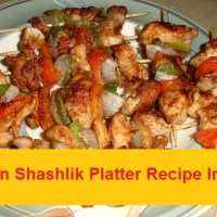 Chicken Shashlik Platter Recipe In Urdu