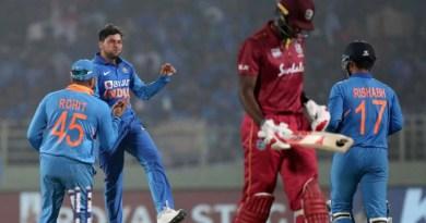 Rohit Sharma, KL Rahul hit tons, Kuldeep Yadav takes hat-trick, India draw level
