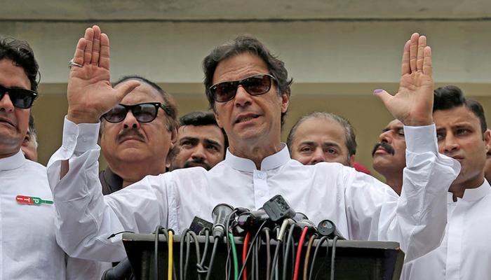 Imran Khan did a good job to clip NAB powres