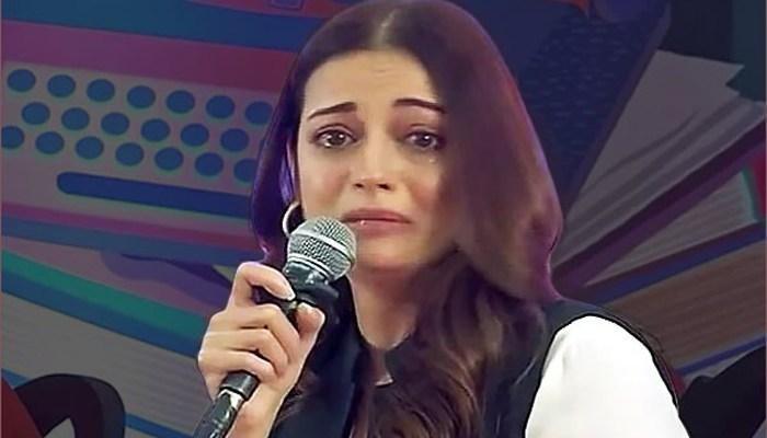 Dia Mirza Breaks Down At Jaipur Literature Festival