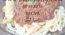 easy spaghetti recipe in hindi and urdu