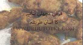 farai machli recipe in urdu and hindi