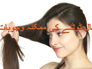 Causes of Damage Hair for men and women in urdu and hindi