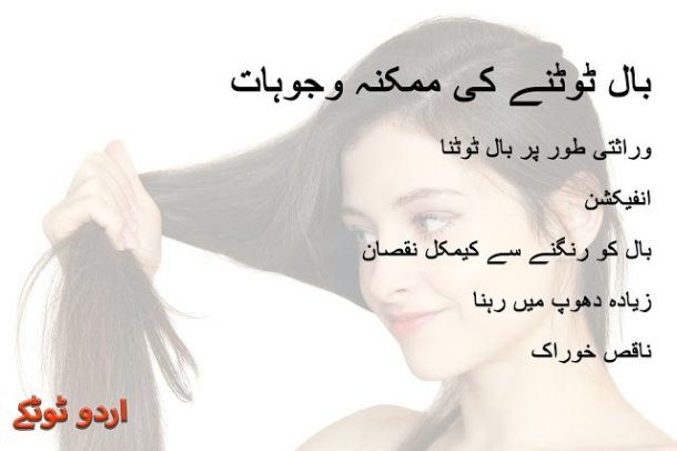 5 Possible causes of damage hair in urdu and hindi