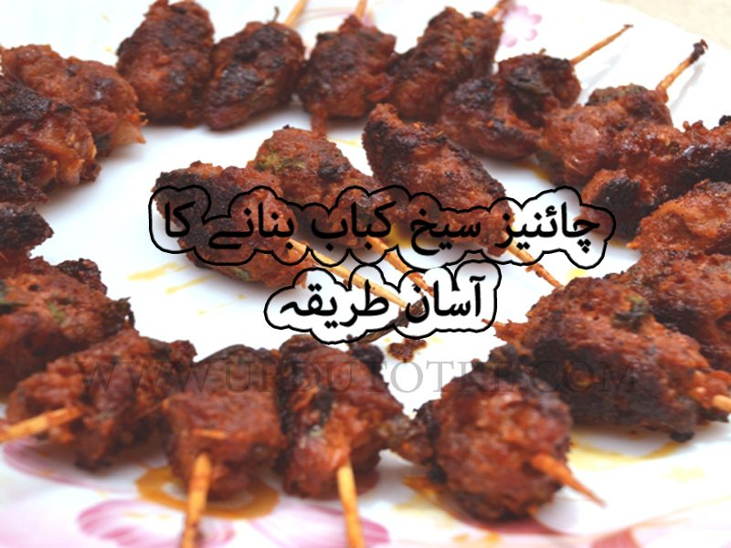 seekh kebab recipe in urdu
