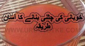 khubani ki chatni ramadan recipes for iftar