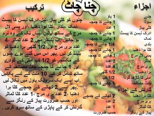 best chana chaat iftar recipes